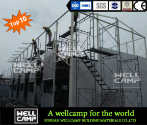 Wellcamp Top 10 Brand Sandwich Panel Prefabricated Building pictures & photos