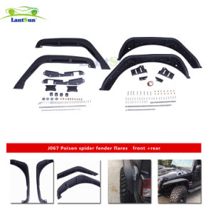 Lantsun J067 Steel Fender Flare Kit 4 Flares Front & Rear for 2007-2017 J Eep Wrangler Jk pictures & photos