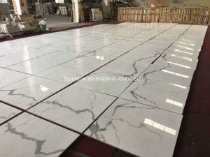 Beige Black White Marble Slab for Project Decoration pictures & photos