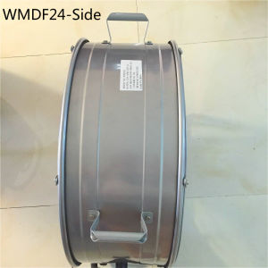 Rubber Wheel Rotary Switch 24 Inch Drum Fan High Velocity Fan Floor Stand Fan for Workshop, Warehouse, Garage pictures & photos