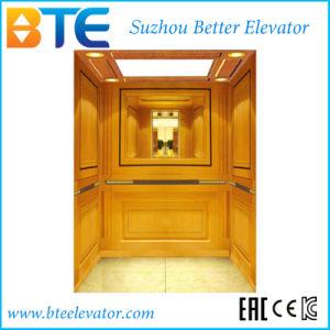 Mrl Gold Decoration Passenger Elevator for Commercial Building
