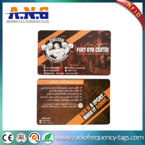 13.56MHz Hf RFID Plastic MIFARE Chip Card for Gym Fitness pictures & photos
