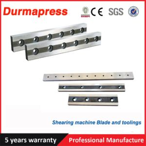 Shearing Machine Blades for Cutting Stainless Steel Thickness 1.5-13mm pictures & photos