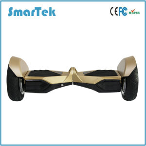 Smartek 10 Inch Two Wheels Hoverboard for Wholesale LED Light Self Balancing Scooter Patinete Electrico with Bluetooth S-012 pictures & photos