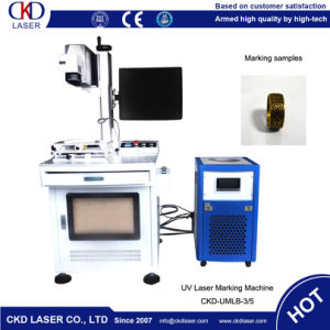 Proprietary Pulse Shaping Mechanism Laser Marking Machine for Ring pictures & photos