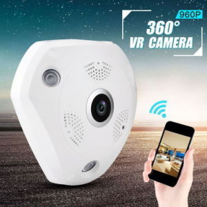 360 Degree Fisheye Lens WiFi IP Camera pictures & photos