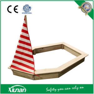 Kids Wooden Pirate Ship Sandpit and Sand Box pictures & photos