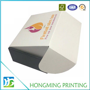Cheap One Peice Printed Corrugated Cardboard Box pictures & photos