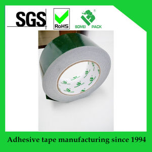 Solvent Adhesive Double Sided PE Foam Tape pictures & photos