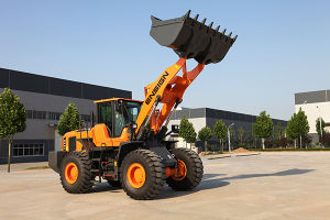 Earthmoving Equipment Ensign 5 Ton Wheel Loader Yx656 pictures & photos