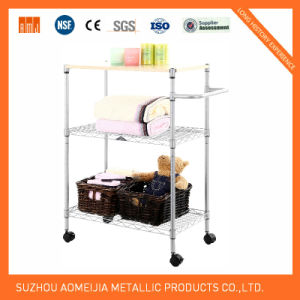Metal Wire Display Exhibition Storage Shelving for Latvia Shelf pictures & photos