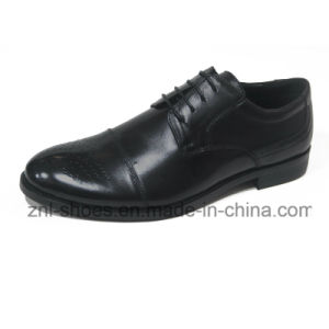 Men′s Dress Shoes with Cow Leather (FGY-H105-A10)