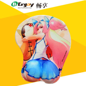 Busty Full Sexy Photos Girls Ergonomic Mouse Pad Factory pictures & photos