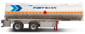 45m3 Aluminium Alloy Semi Trailer Liquid Tank pictures & photos