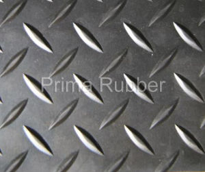 Rhomboid Rubber Mat pictures & photos
