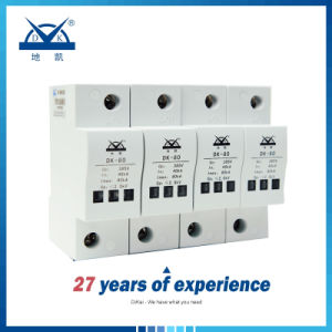 Power System AC380V 2p 4p 80ka Surge Protective Device/ Surge Arrester pictures & photos