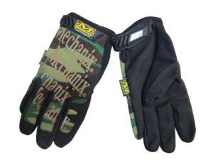 Airsoft Full Finger Tactical Safety Gloves pictures & photos