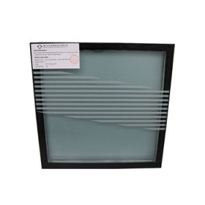 Ceramic Frit Coated Insulated Double Panel Curtain Wall Skin Glass pictures & photos