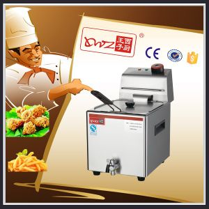Manufacturer Selling Electric Fryer with Tap/ Ce pictures & photos