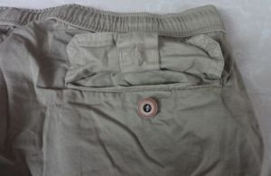 Men′s Garments Dyeing Cotton Cargo Shorts (3902) pictures & photos