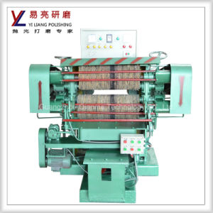 Full Automatic Stainless Steel Spoon Mirror Polishing Machine pictures & photos