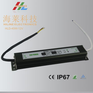 LED Driver 45W Black Housing Waterproof pictures & photos
