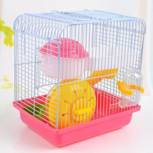 Round Villa Two Layer Plastic Hamster Cage Sale pictures & photos