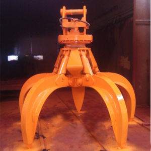 Hydraulic Waste Grapple for 20t Excavators pictures & photos