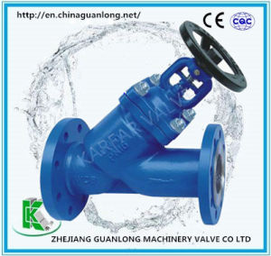 DIN Y - Pattern Bellow Sealed Globe Valve pictures & photos