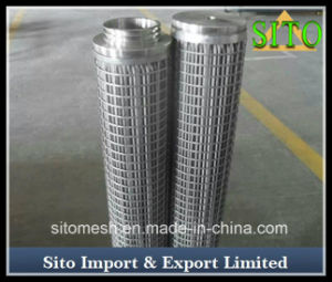 Stainless Steel Wire Mesh Cylinder Filter pictures & photos