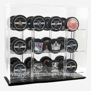 New Acrylic Hockey Pucks Display Case pictures & photos