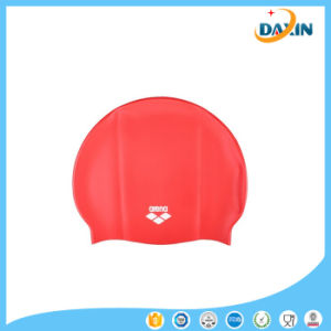 Wholesale Waterproof Silicone Swim Cap, Water Sports Swimming Cap Silicone pictures & photos
