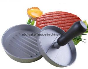 Food Grade Manual Aluminium Mini BBQ Burger Press Patty Maker pictures & photos