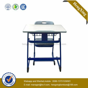 Classic Design Cheap Price Classroom Desk and Chair School Furniture (HX-5CH245) pictures & photos