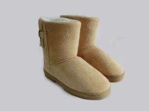 Winter Warm Cute Girls Outdoor Boots pictures & photos