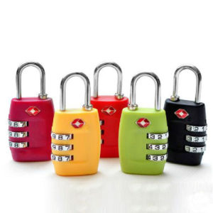 Tsa335 Customs Password Lock Essential Travel Luggage Trolley Lock Padlock Tsa Customs Security Luggage Lock pictures & photos