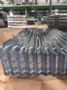 Prime Full Hard Galvanized Roofing Sheets Price with Big Wave Sheet pictures & photos