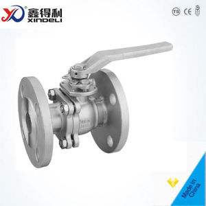 2 PC Floating Ball Valve with Mounting Pad pictures & photos