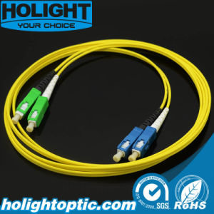 Sc to Sca Duplex Single Mode 2.0mm Optical Patch Cord pictures & photos