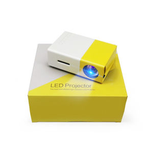 Home Theater Portable Mini Projector Yg300 pictures & photos