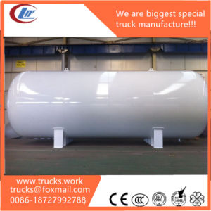5m3 2tons 5000liters Horizontal Bulk Gas Tanker LPG Storage Tank pictures & photos