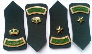 Army Police Military Shoulder Rank Metal Badge pictures & photos