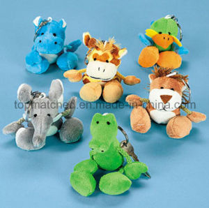 Top Quality Logo Printed Plush Horse Keychain Toy for Promotion pictures & photos