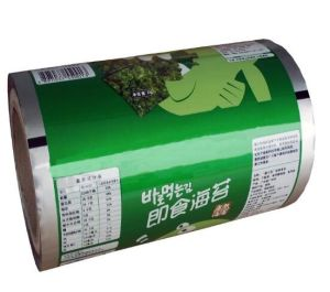 Custom Printed Aluminum Laminated Food Packaging Roll Film for Snack pictures & photos