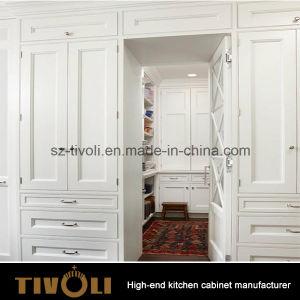 MDF Natural Oak Veneer Cabinet Wood Kitchen Furniture (AP141) pictures & photos