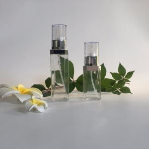 100ml Pet Plastic Perfume Bottle with Mist Spray pictures & photos