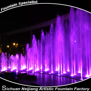 Musical Dancing Hotel Fountain