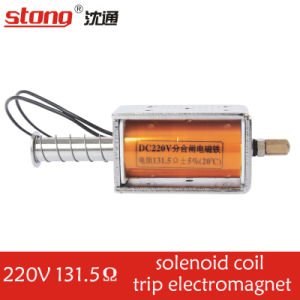 Stong Open-Close Solenoid Coil Frame Electromagnet for Vcbs pictures & photos
