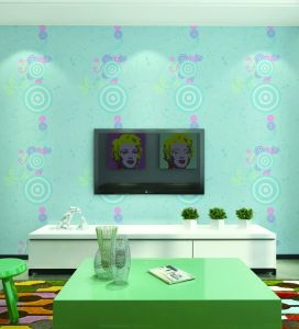 Vinyl Wall Coating New Design 3D Modern Wallpaper From Factory pictures & photos