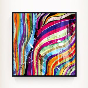 Colorful Abstract Canvas Painting for Decor pictures & photos
